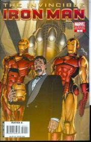 Invincible Iron Man #1 Bob Layton Retailer Incentive Variant 1:25 Marvel comic book